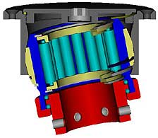 3-d animation of bearing